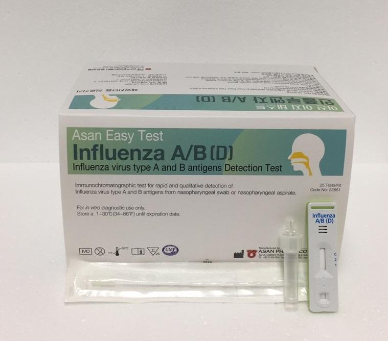Asan Easy Test Influenza A/B (D)