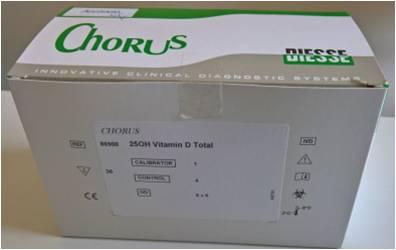 CHORUS 25OH Vitamin D Total